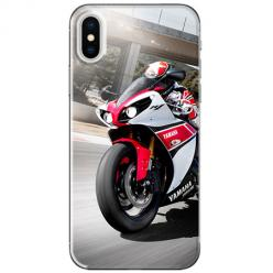 Etui na telefon iPhone XS Max - Motocykl ścigacz