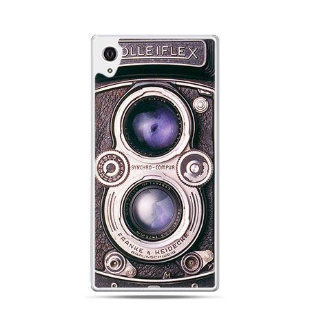 Aparat Rolleiflex etui z nadrukiem dla  Xperia Z2 twarde plastikowe