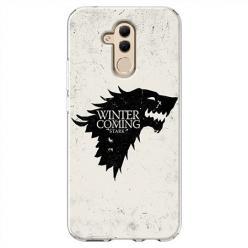 Etui na Huawei Mate 20 Lite - Winter is coming Black