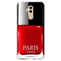 Etui na Huawei Mate 20 Lite - Czerwony lakier do paznokci