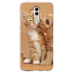 Etui na Huawei Mate 20 Lite - Jak pies z kotem