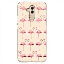 Etui na Huawei Mate 20 Lite - Flamingi