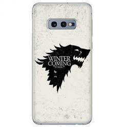 Etui na Samsung Galaxy S10e - Winter is coming Black
