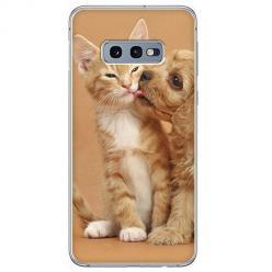 Etui na Samsung Galaxy S10e - Jak pies z kotem