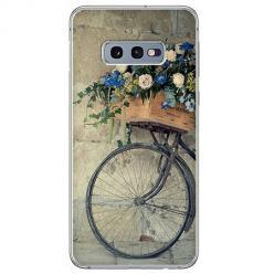 Etui na Samsung Galaxy S10e - Rower z kwiatami