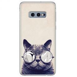 Etui na Samsung Galaxy S10e - Kot w okularach