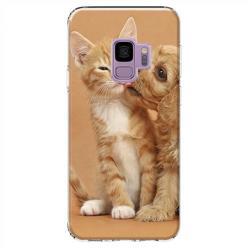 Etui na Samsung Galaxy S9 - Jak pies z kotem