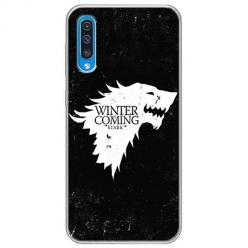 Etui na Samsung Galaxy A50 - Winter is coming White