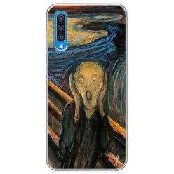 Etui na Samsung Galaxy A50 - Krzyk Munka