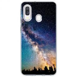 Etui na Samsung Galaxy A40 - Droga mleczna Galaktyka