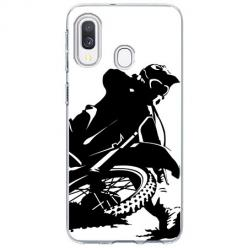 Etui na Samsung Galaxy A20e - Motocykl Cross