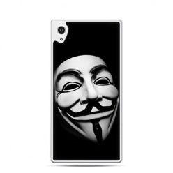 Maska anonimus etui z nadrukiem dla Xperia Z2