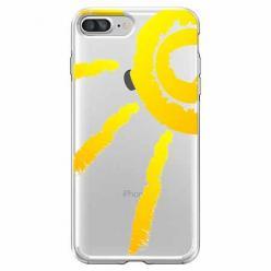 Etui na iPhone 7 Plus - Wakacyjne słońce.