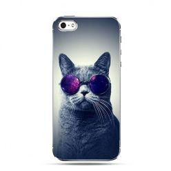 Etui na telefon kot w okularach przeciwsłonecznych
