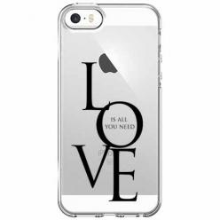 Etui na iPhone 5 , 5s - All you need is LOVE.