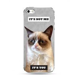 Etui na telefon grumpy kot zrzęda