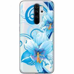 Etui na Xiaomi Redmi Note 8 Pro - Niebieski kwiat północy.