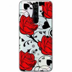 Etui na Xiaomi Redmi Note 8 Pro - Czerwone róże.