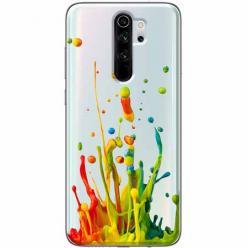 Etui na Xiaomi Redmi Note 8 Pro - Kolorowy splash.