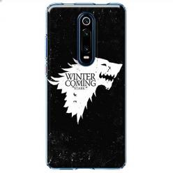 Etui na Xiaomi Mi 9T - Winter is coming White