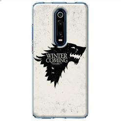 Etui na Xiaomi Mi 9T - Winter is coming Black