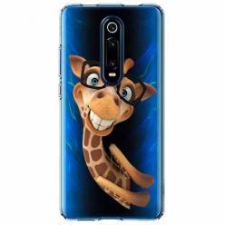 Etui na Xiaomi Mi 9T - Żyrafa w okularach.