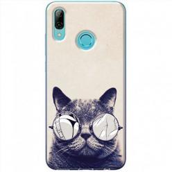 Etui na Huawei P Smart Z - Kot w okularach