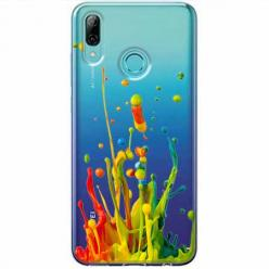 Etui na Huawei P Smart Z - Kolorowy splash.