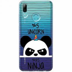 Etui na Huawei P Smart Z - Ninja Unicorn - Jednorożec.