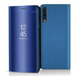 Etui na Samsung Galaxy A50 - Flip Clear View z klapką - Niebieski.