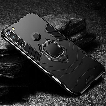 Etui na Xiaomi Redmi Note 8T - pancerne - Czarny.