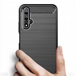 Etui na Huawei Nova 5T - bumper Neo CARBON - Czarny.