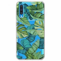 Etui na Samsung Galaxy A30s - Egzotyczne liście