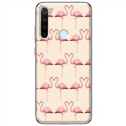 Etui na Xiaomi Redmi Note 8T - Flamingi
