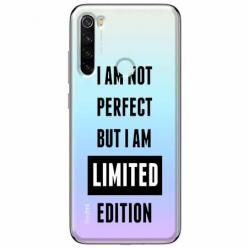 Etui na Xiaomi Redmi Note 8T - I Am not perfect…