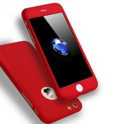 Etui na iPhone 8 - Slim MattE 360 - Czerwony