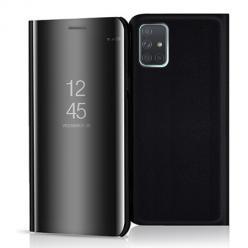 Etui na Samsung Galaxy A71 - Flip Clear View z klapką - Czarny.